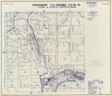Township 7 N., Range 4 E., Merrill Lake, Yale Dam Reservoir, Cougar, Lewis River, Cowlitz County 1968